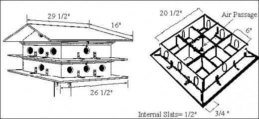 10x10 Lean To Shed Plans Free Purple Martin Bird House