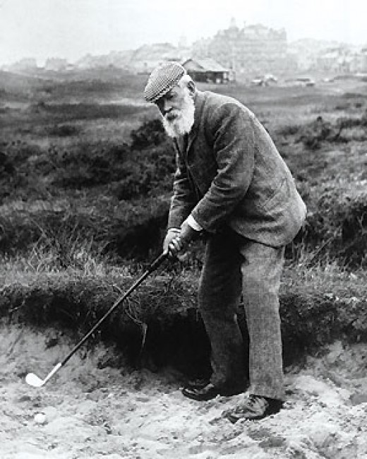 Tom Morris.   The founding father of golf and winner of 4 Open Championships