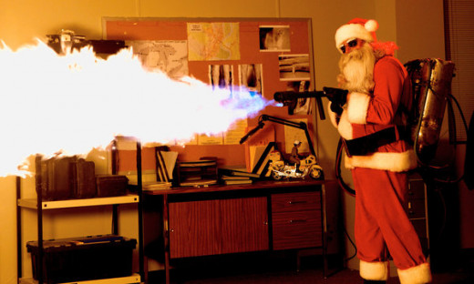 Screen shot from Silent Night (2012)