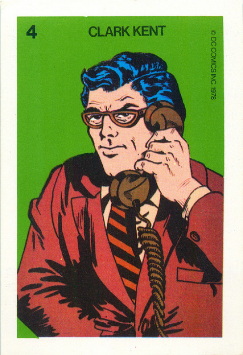 "When I needed some ""me time,"" I'd cleverly take on the disguise of ""Ken Kent,"" outspoken columnist for The Daily Planet, print editon."