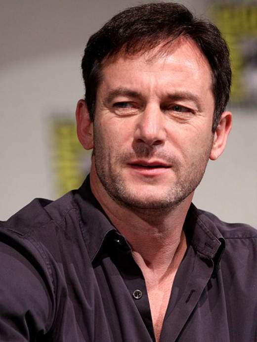 "Jason Isaacs, star of the BBC's ""The State Within"""