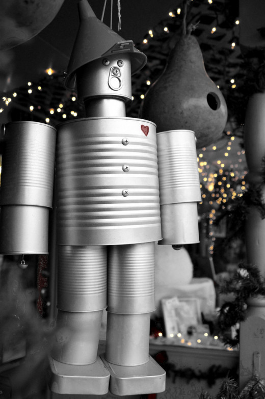 Tin Man at Christmas