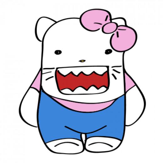 Hello Domo Kitty!
