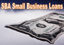 The SBA has a number of small business loans to choose from.