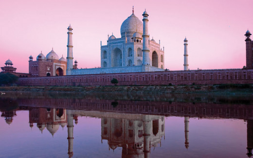 Voted one of the Seven Modern Wonders of the World and a UNESCO World Heritage Site for its cultural significance, Taj Mahal is one of the most iconic structures in the world