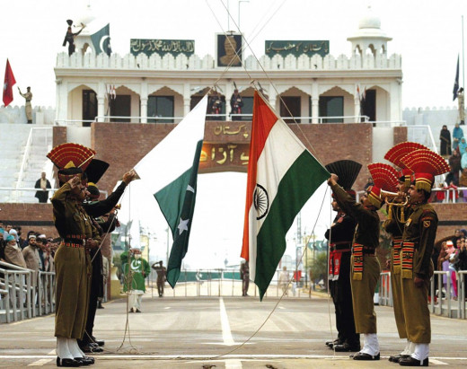 The Wagah border closing 'lowering of the flags' ceremony is a daily military practice that the security forces of India and Pakistan have jointly followed since 1959.
