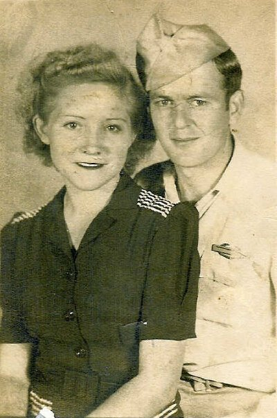 My grandparents, who taught me the joy of food and family and love.