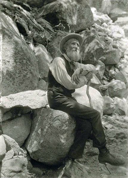 John Muir was photographed by Francis M. Fritz in 1907.