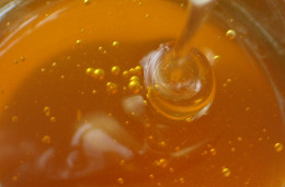 All natural, organic honey! A great natural anti-bacterial for treating acne overnight!