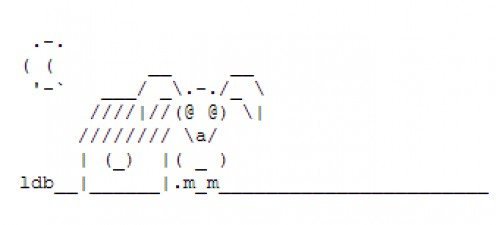 Year of the Dog: Chinese New Year ASCII Text Art