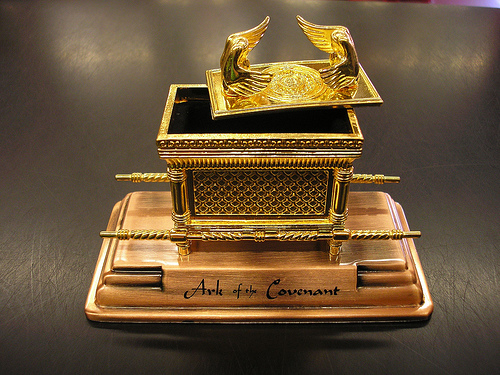The original Ark of the Covenant may have been like this.