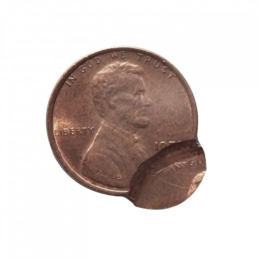 1970's double strike Lincoln cent