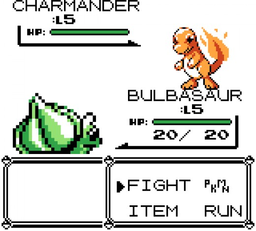 Bulbasaur, as a grass-type Pokémon, is inherently weak against fire-type moves.