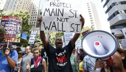 It is time for Main Street to put limits on Wall Street!  Everyone is entitled to fair wages for a day's work!