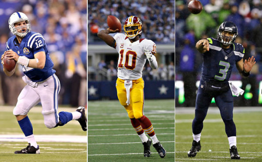 2012 has been the year of rookie quarterback. in the NFL. Who was the best of them all?