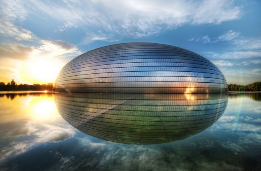 The Egg - China's National Centre for the Performing Arts (Chinese: 国家大剧院)
