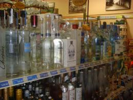 Here is where the fun will begin. Pick your vodka  or rum or gin.
