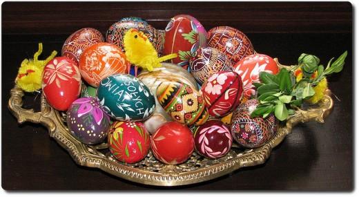 Polish Pisanki (Easter Eggs)