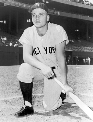 New York Yankee home run king Roger Maris