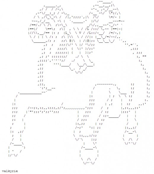 One Line Ascii Art New Year : Year of the goat happy new ascii text art hubpages