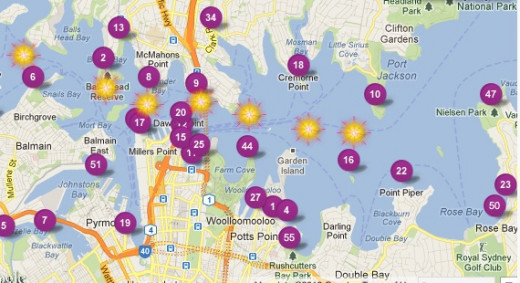 Where to watch the Sydney fireworks from