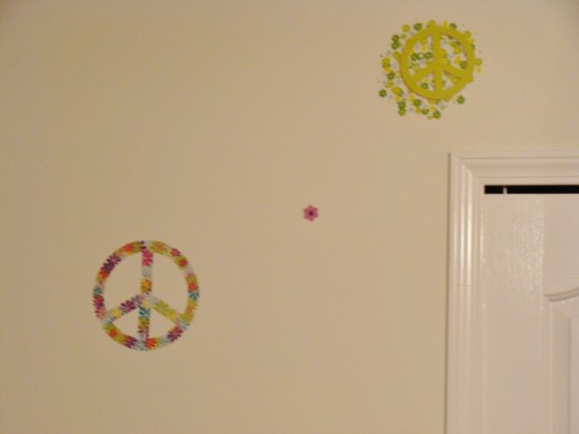 Wall decals are an inexpensive way to update the look of a room.