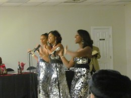 Aaron & Ladine's youngest daughter Aarika and two of her friends immitated The Supremes.