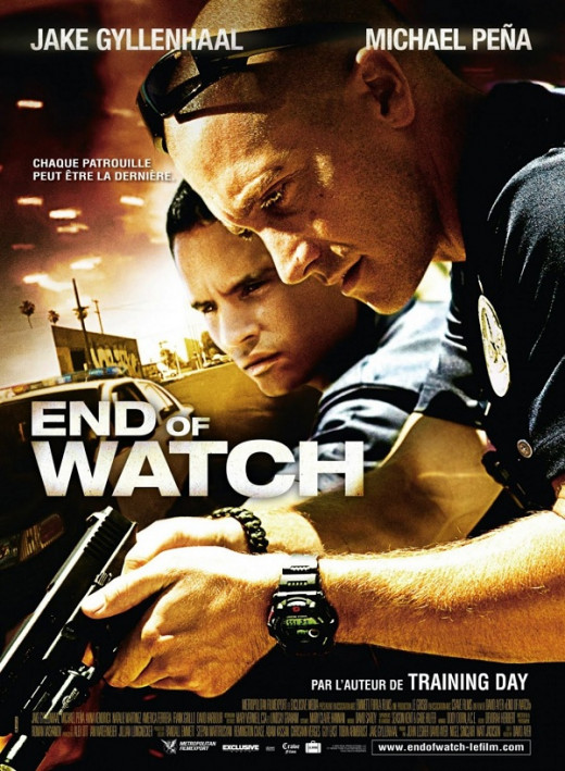 Promotional poster for End of Watch (2012)