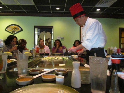 Food at the Habachi restaurant was also enjoyable.
