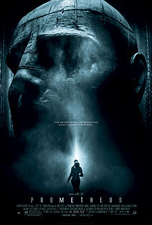 Theatrical poster for Prometheus (2012)