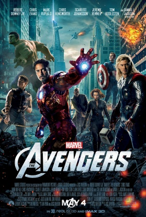 Theatrical poster for The Avengers (2012)