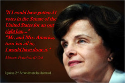 Have you signed the petition to have Senator Feinstein tried for treason?