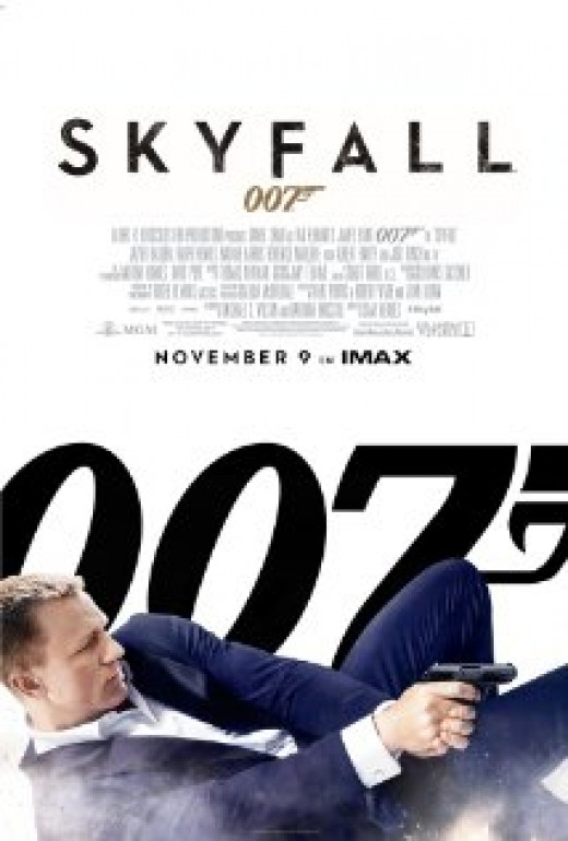 Theatrical poster for Skyfall (2012)