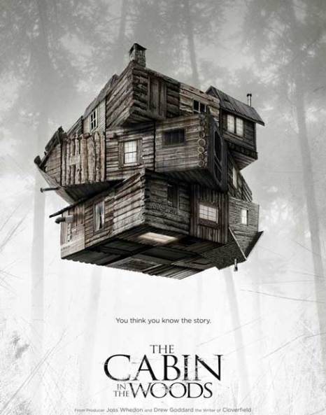 Theatrical poster for The Cabin in the Woods (2012)