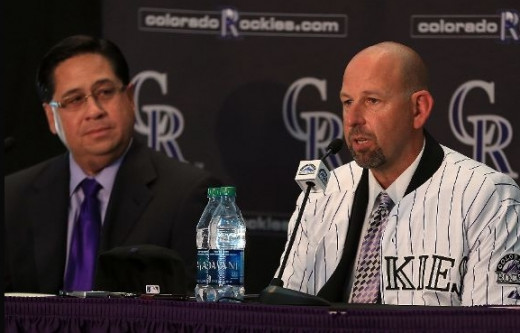 Walt Weiss, Manager, Colorado Rockies