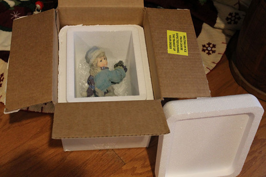 Boxes used to ship cold items are perfect for fine  storage