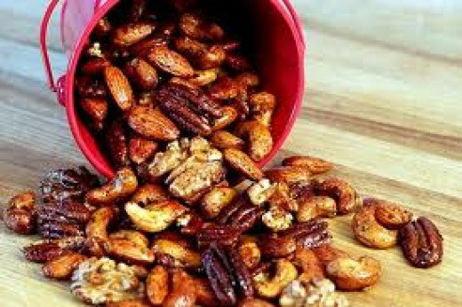Spicy Mixed Nuts