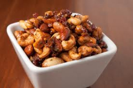 Spicy Mixed Nuts--A Perfect Accompaniment to your Bar or Beverage Station