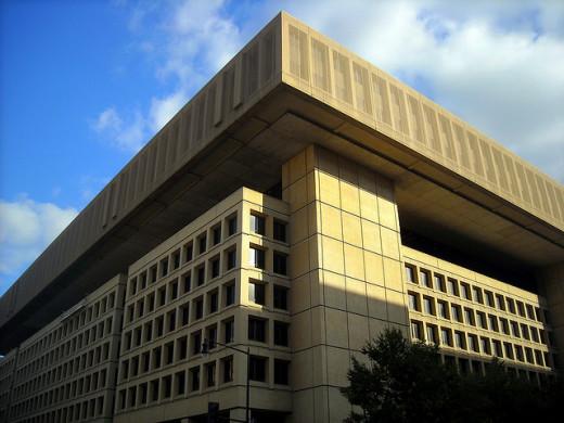 J. Edgar Hoover Building in Washington D.C