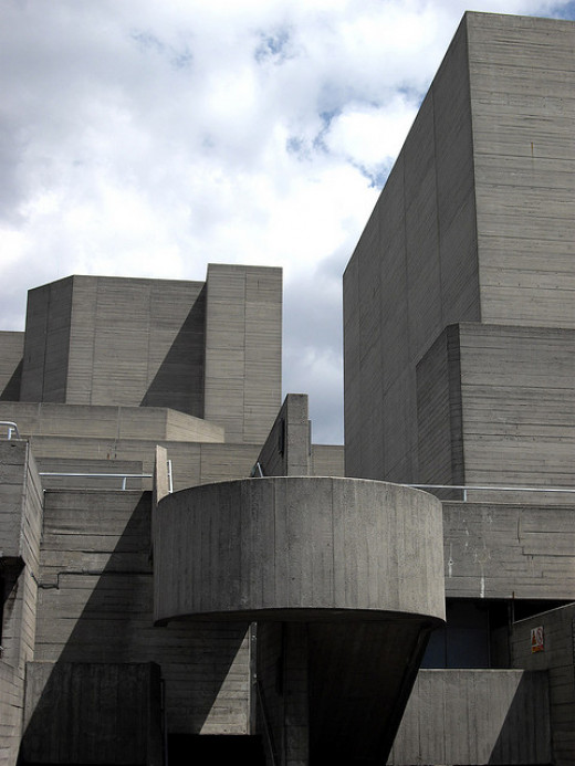 Another view of the National Theatre, London
