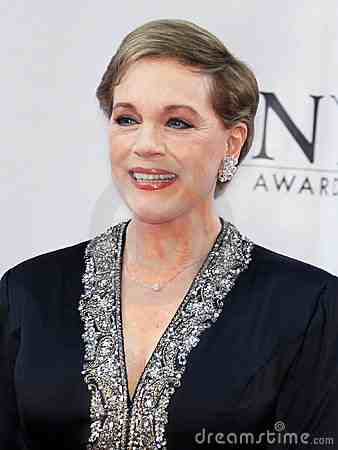 Still lovely in her 70's.  Julie Andrews, one of my all time favorite stars.