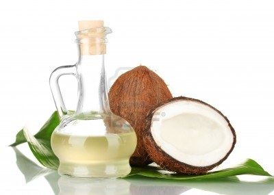 Depending on the temperature of where it is being stored, coconut oil can either be a clear liquid or malleable, cloudy solid.