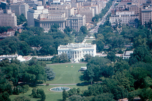 The official residence of the United States President since 1801.
