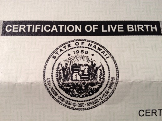 The Hawaii Seal - What you will receive when you order your replacement birth certificate.