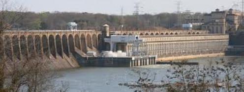 Florence, Alabama has many beautiful sights such as Wilson Dam.