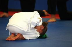 How to Do a Martial Arts Bow