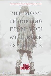 Promotional poster for Evil Dead (2013)
