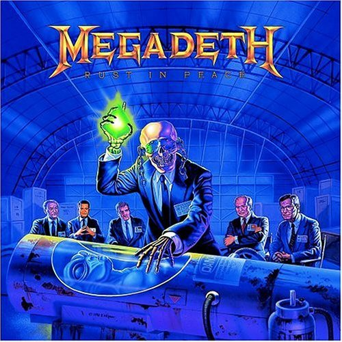 Is it only me, or has Dave Mustaine lost his head completely?