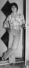Black & White Photo of Scott Baio