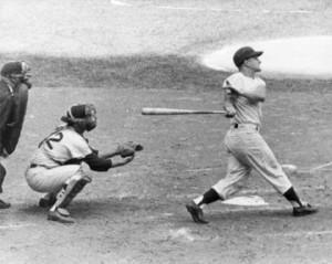 Maris hitting 61 in '61